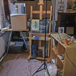 In the studio…